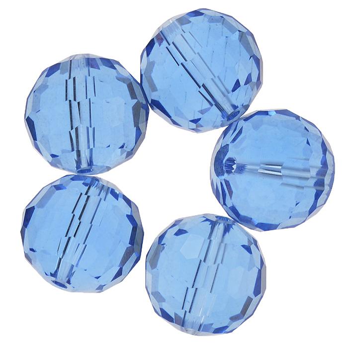 Бусины Астра, цвет: синий (4), диаметр 15 мм, 5 шт. 7705646_47705646_4Набор бусин Астра, изготовленный из стекла, позволит вам своими руками создать оригинальные ожерелья, бусы или браслеты. Бусины выполнены круглой формы с рельефными, многогранными поверхностями. Изготовление украшений - занимательное хобби и реализация творческих способностей рукодельницы, это возможность создания неповторимого индивидуального подарка.