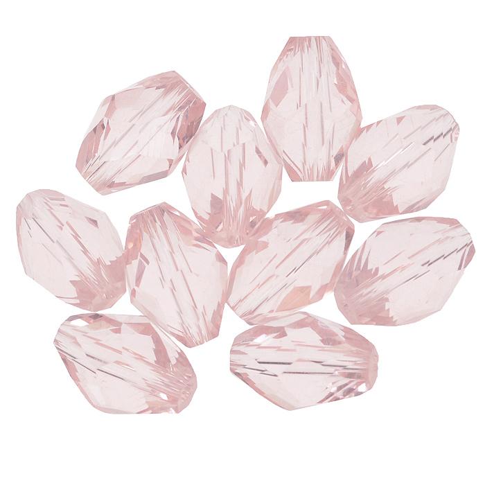 Бусины Астра, цвет: розовый (33), 11 мм х 8 мм, 10 шт. 7702761_337702761_33Набор бусин Астра, изготовленный из стекла, позволит вам своими руками создать оригинальные ожерелья, бусы или браслеты. Бусины выполнены овальной формы с рельефными, многогранными поверхностями. Изготовление украшений - занимательное хобби и реализация творческих способностей рукодельницы, это возможность создания неповторимого индивидуального подарка.