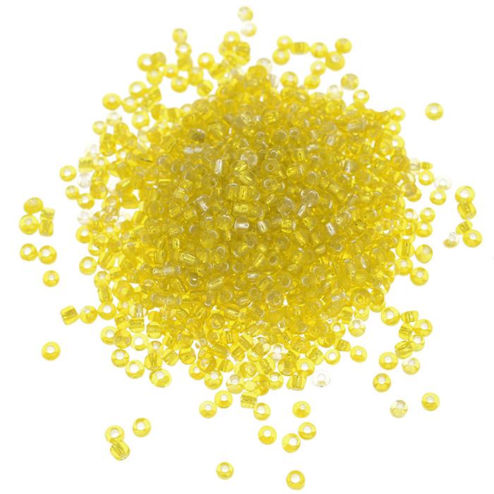 Бисер Астра, с серебряным центром, цвет: желтый (30), размер 11/0, 20 г. 675288_30675288_30 желтыйБисер Астра, изготовленный из пластика круглой формы, позволит вам своими руками создать оригинальные ожерелья, бусы или браслеты, а также заняться вышиванием. В бисероплетении часто используют бисер разных размеров и цветов. Он идеально подойдет для вышивания на предметах быта и женской одежде. Размер бисера: 11/0. Вес пакетика: 20 г. Изготовление украшений - занимательное хобби и реализация творческих способностей рукодельницы, это возможность создания неповторимого индивидуального подарка.