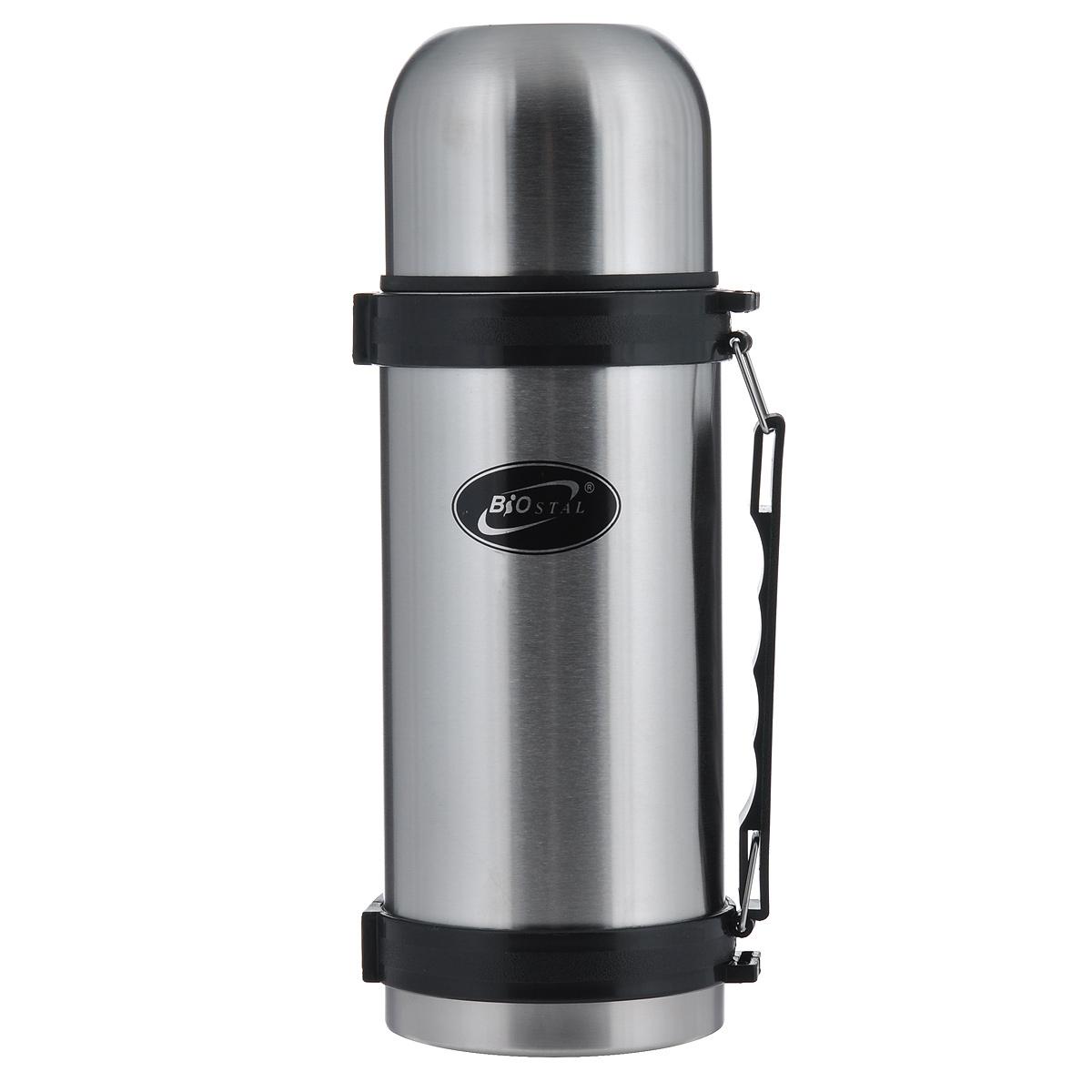 Термос BIOSTAL, 1,2 л. NY-1200-2NY-1200-2Термос с узким горлом BIOSTAL, изготовленный из высококачественной нержавеющей стали, относится к классической серии. Термосы этой серии, являющейся лидером продаж, просты в использовании, экономичны и многофункциональны. Термос предназначен для хранения горячих и холодных напитков (чая, кофе) и укомплектован пробкой с кнопкой. Такая пробка удобна в использовании и позволяет, не отвинчивая ее, наливать напитки после простого нажатия. Изделие также оснащено крышкой-чашкой, и удобной пластиковой ручкой. Легкий и прочный термос BIOSTAL сохранит ваши напитки горячими или холодными надолго.