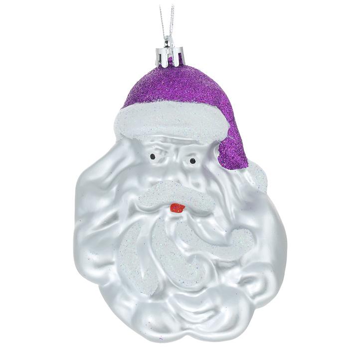 Новогоднее подвесное украшение Sima-land Дед Мороз, цвет: фиолетовый. 717939717939 фиолетовыйНовогоднее украшение Sima-land Дед Мороз отлично подойдет для декорации вашего дома и новогодней ели. Игрушка выполнена из пластика в виде Деда Мороза в ярком колпаке. Украшение декорировано блестками и оснащено специальной текстильной петелькой для подвешивания. Елочная игрушка - символ Нового года. Она несет в себе волшебство и красоту праздника. Создайте в своем доме атмосферу веселья и радости, украшая всей семьей новогоднюю елку нарядными игрушками, которые будут из года в год накапливать теплоту воспоминаний. Коллекция декоративных украшений из серии Зимнее волшебство принесет в ваш дом ни с чем не сравнимое ощущение праздника!