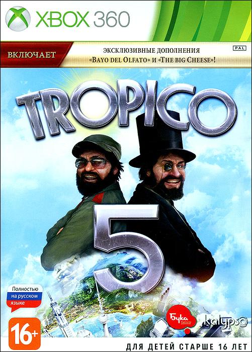 Tropico 5Новая часть популярного симулятора диктатора снова возвращает вас на удаленное островное государство Тропико! Правьте своей династией с ранних колониальных времен до 21 века и далее. Вам предстоит пройти абсолютно новые испытания, освоить новые способы торговли и научных исследований и открыть новые технологии. А также, впервые в истории серии Tropico - возможность играть вчетвером в многопользовательской игре и кооперативном режиме! Особенности игры: Эры - начните правление в колониальные времена, переживите мировые войны и Великую депрессию, развивайтесь до наших дней… и далее! Начиная с IX и по XXI век, каждая эра имеет свои особенные задачи и уникальные возможности. Династия - на острове каждый член большой семьи Эль Президенте, может быть назначен правителем, управляющим, послом или генералом. Инвестируйте средства в свою династию, открывайте новые особенности и превратите вашу семью в свое главное достояние. Исследования и...