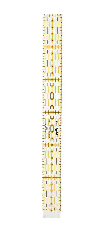 """Линейка универсальная """"Prym"""" для пэчворка, с сантиметровой шкалой, 30 см 611650"""