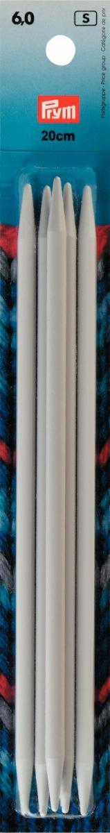 Спицы чулочные 6мм/20см, пластик, серый, 5шт в упаковке (10130022/060214/0000364/7, ГЕРМАНИЯ )218644Спицы чулочные 6мм/20см, пластик, серый, 5шт в упаковке