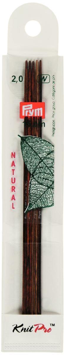 Спицы чулочные Prym Natural, деревянные, прямые, диаметр 2 мм, длина 15 см, 5 шт223120Спицы для вязания Prym Natural изготовлены из дерева. Спицы прочные, легкие, гладкие, удобные в использовании. Деревянные спицы предназначены для вязания чулок, шапочек, варежек, носков и других вещей. Вы сможете вязать для себя и делать подарки друзьям. Рукоделие всегда считалось изысканным, благородным делом. Работа, сделанная своими руками, долго будет радовать вас и ваших близких.