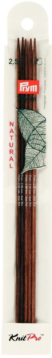 Спицы чулочные Prym Natural, деревянные, прямые, диаметр 2,5 мм, длина 20 см, 5 шт223141Спицы для вязания Prym Natural изготовлены из дерева. Спицы прочные, легкие, гладкие, удобные в использовании. Деревянные спицы предназначены для вязания чулок, шапочек, варежек, носков и других вещей. Вы сможете вязать для себя и делать подарки друзьям. Рукоделие всегда считалось изысканным, благородным делом. Работа, сделанная своими руками, долго будет радовать вас и ваших близких.
