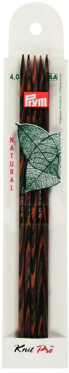 Спицы чулочные Prym Natural, деревянные, прямые, диаметр 4 мм, длина 20 см, 5 шт223144Спицы для вязания Prym Natural изготовлены из дерева. Спицы прочные, легкие, гладкие, удобные в использовании. Деревянные спицы предназначены для вязания чулок, шапочек, варежек, носков и других вещей. Вы сможете вязать для себя и делать подарки друзьям. Рукоделие всегда считалось изысканным, благородным делом. Работа, сделанная своими руками, долго будет радовать вас и ваших близких.