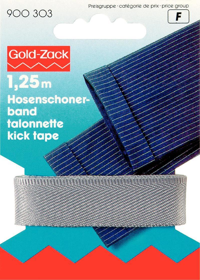 Тесьма для брюк Prym, цвет: серый, 17 мм, 1,25 м900303Тесьма для брюк Prym - это неэластичная лента, выполненная из 100% полиэстера. Предназначена для обработки и укорачивания низа штанин. В основном используется для классических мужских брюк. Тесьма предохраняет край брюк от быстрого изнашивания, утяжелят брюки, что дает более четкое выравнивание штанины, а также держит форму стрелок по подгибу. Ширина тесьмы: 17 мм. Длина тесьмы: 1,25 м.