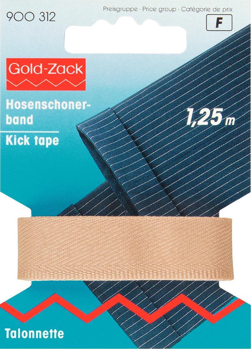 Тесьма для брюк Prym, цвет: бежевый, 17 мм, 1,25 м900312Тесьма для брюк Prym - это неэластичная лента, выполненная из 100% полиэстера. Предназначена для обработки и укорачивания низа штанин. В основном используется для классических мужских брюк. Тесьма предохраняет край брюк от быстрого изнашивания, утяжелят брюки, что дает более четкое выравнивание штанины, а также держит форму стрелок по подгибу.