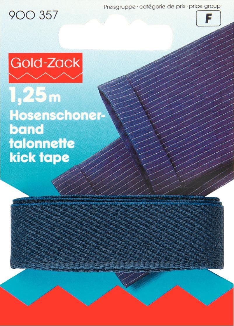 Тесьма для брюк Prym, цвет: синий, 17 мм, 1,25 м900357Тесьма для брюк Prym - это неэластичная лента, выполненная из 100% полиэстера. Предназначена для обработки и укорачивания низа штанин. В основном используется для классических мужских брюк. Тесьма предохраняет край брюк от быстрого изнашивания, утяжелят брюки, что дает более четкое выравнивание штанины, а также держит форму стрелок по подгибу.