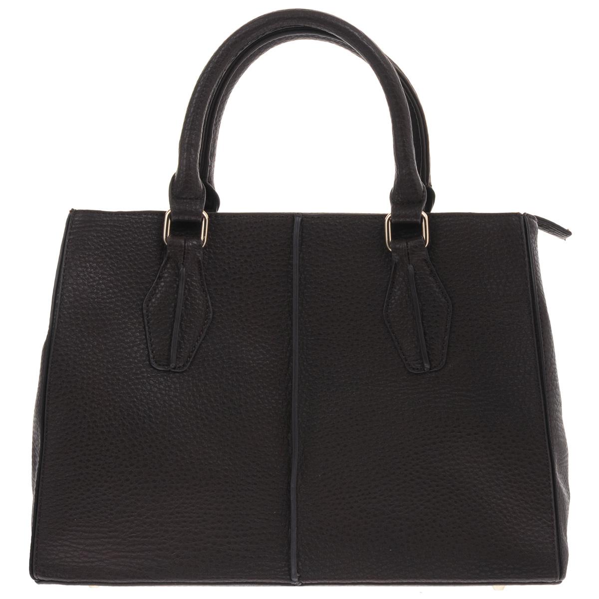 Сумка женская Renee Kler, цвет: коричневый. RK269RK269-03Лаконичная женская сумка Renee Kler изготовлена из искусственной кожи и оформлена декоративными внешними швами. Изделие закрывается на застежку-молнию. Внутри - одно вместительное отделение, разделенное средником на молнии, два накладных кармана для мелочей и мобильного телефона и врезной карман на застежке-молнии. На тыльной стороне расположен карман на молнии. Дно оснащено металлическими ножками. Длинный съемный ремень идет в комплекте с сумкой. Изделие упаковано в фирменный чехол. Классическая сумка отлично дополнит деловой образ, а также подчеркнет ваш отменный вкус.