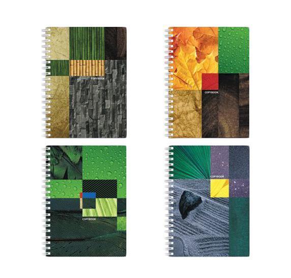 Полиграфика Тетрадь на спирали А5, 120л Eco-Texture, жесткий ламинат (глянцевый) бамбук30Обложка:картон жесткий ламинированный 170 г/м2. Блок: бумага офсетная 55 г/м2
