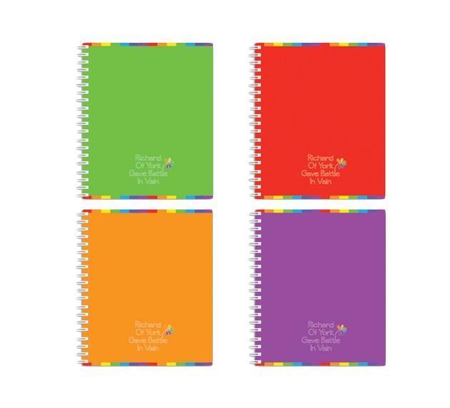 Полиграфика Тетрадь на спирали, 60л Rainbow, цвет: фиолетовый35636фиолетовыйОбложка:картон мелованный 170 г/м2. Блок: бумага офсетная 55 г/м2
