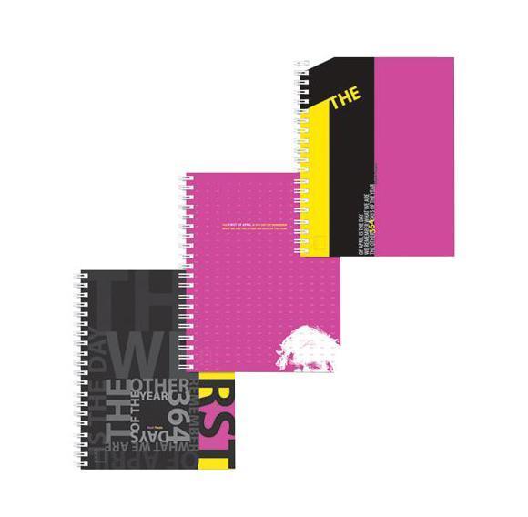 Полиграфика Тетрадь А4 120л The first of April, жесткий ламинат (глянцевый), цвет: черный34Обложка:картон жесткий ламинированный 170 г/м2. Блок: бумага офсетная 60 г/м2