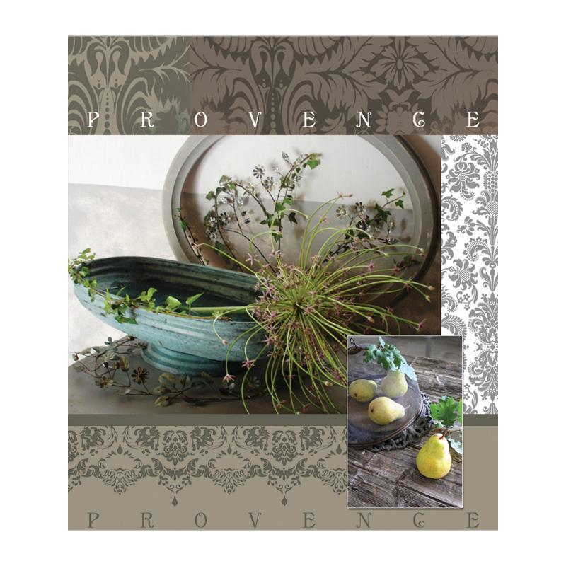 Полиграфика Тетрадь, 96л Provence35489Обложка:картон мелованный 170 г/м2. Блок: бумага офсетная 55 г/м2