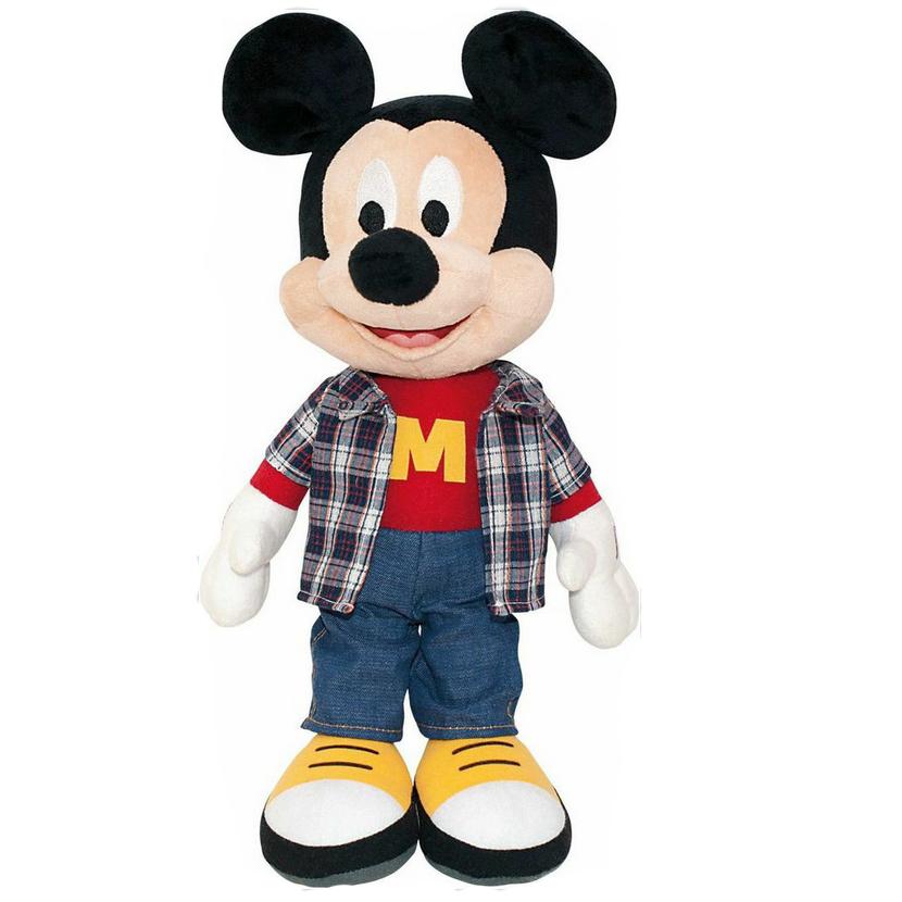 Мягкая озвученная игрушка Микки Маус, 40 смDWM01\MМягкая озвученная игрушка Микки Маус станет чудесным подарком для вашего ребенка к любому празднику. Она выполнена из приятного на ощупь текстильного материала. Микки Маус - победитель, настоящий герой! Он друг, о котором мечтаю все! При нажатии на животик, Микки Маус воспроизводит следующие фразы: 1) Привет, я Микки Маус! 2) Вот так удача! 3) Привет, друзья! 4) Готов попробовать себя во всем: от серфинга до горных лыж! 5) Микки-Минни мульти-класс - приключения ждут нас! 6) Ух ты, здорово! 7) Ой, как я выгляжу? Уши не помялись? Такая игрушка подарит своему обладателю хорошее настроение и не позволит ему скучать!