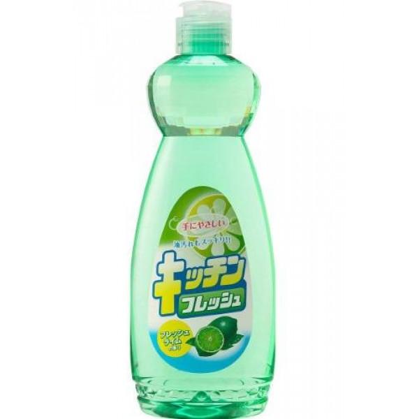 Средство для мытья посуды Mitsuei, с ароматом лайма, 600 мл040603