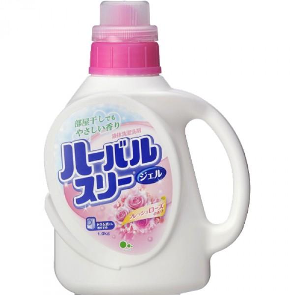 """Гель для стирки белья """"Mitsuei"""", с ароматом роз, 900 мл 060625"""