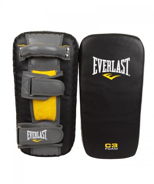 "Макивары Everlast ""Pro Leather Thai"", цвет: черный"