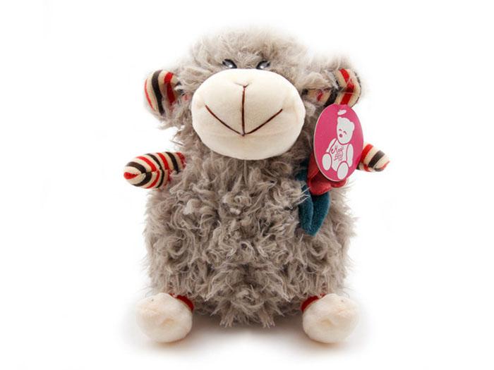 Мягкая игрушка Овечка с цветком, цвет: серый, 26 смBL-7203-2-GОчаровательная мягкая игрушка Овечка с цветком, выполненная в виде милой жизнерадостной овечки молочно-кремового цвета с цветком на шее, вызовет умиление и улыбку у каждого, кто ее увидит. Удивительно мягкая игрушка принесет радость и подарит своему обладателю мгновения нежных объятий и приятных воспоминаний. Великолепное качество исполнения делают эту игрушку чудесным подарком к любому празднику.