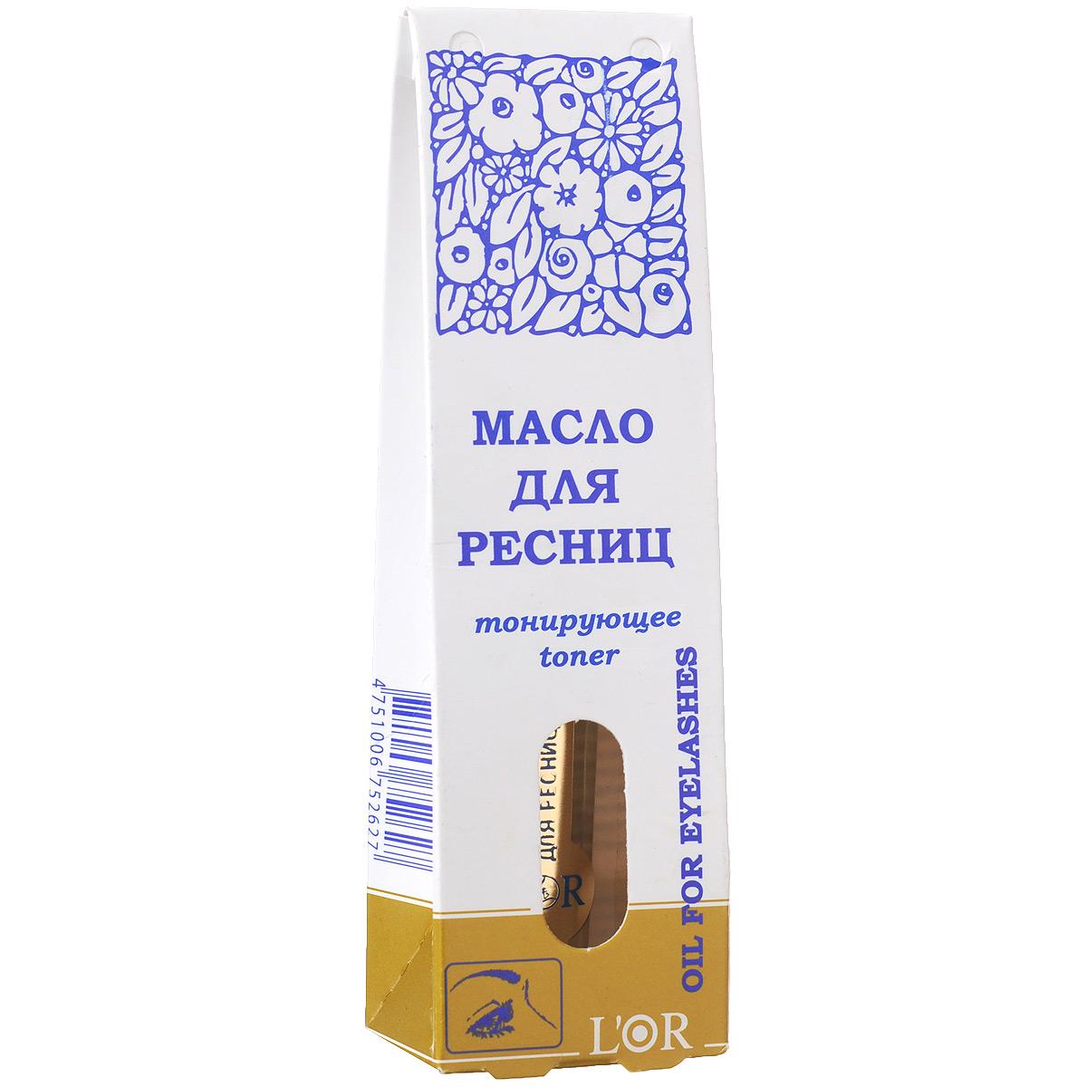 Масло для ресниц и бровей днс питательное