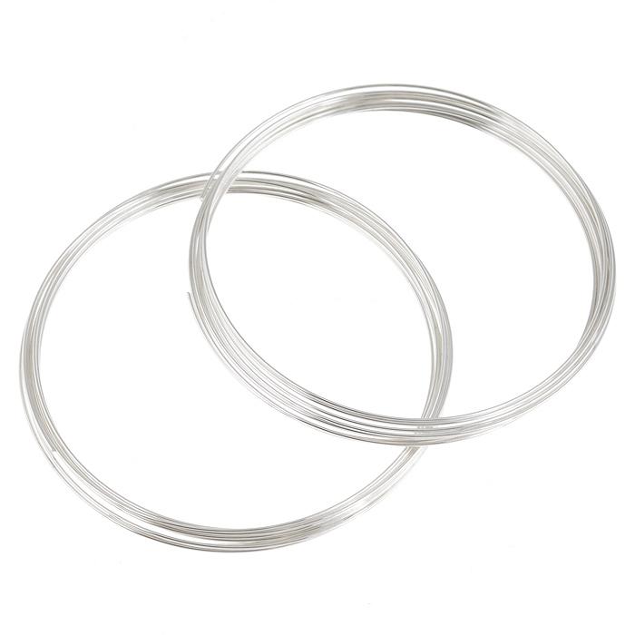 Проволока для браслета Астра, с памятью, цвет: серебристый, 0,6 мм, 2 шт. 77051247705124_сереброПроволока Астра, изготовленная из металла, используется для создания браслетов. Проволока с памятью - это жесткая проволока, закрученная в кольца с различным диаметром. Она хорошо держит форму кольца, и ее трудно согнуть как то иначе. Изделие изготавливают из разных металлов и покрывают лаками разных цветов, благодаря чему она обладает прекрасными декоративными свойствами. Проволока является хорошим материалом для плетения, а для достижения эффектного украшения можно сочетать несколько цветов проволоки. Диаметр браслета: 6 см.