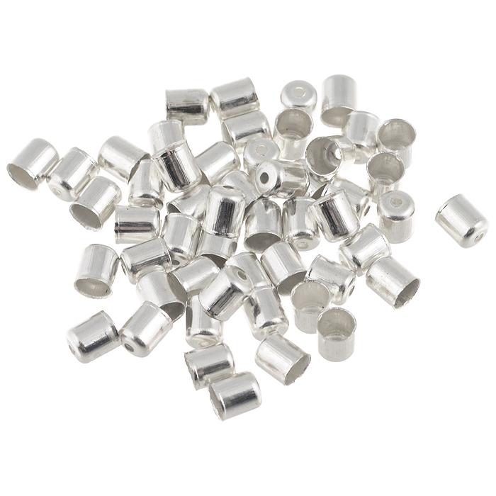 Шапочка для бусин Астра, цвет: серебристый, 6 мм х 5 мм, 50 шт. 77057147705714Набор Астра, изготовленный из металла, состоит из 50 шапочек для бусин. Набор позволит вам своими руками создать оригинальные ожерелья, бусы или браслеты. Шапочки обрамляют бусины и придают законченный красивый вид изделию. Их можно крепить как с одной, так и с обеих сторон бусины. Это прекрасная фурнитура для создания бижутерии. Изготовление украшений - занимательное хобби и реализация творческих способностей рукодельницы, это возможность создания неповторимого индивидуального подарка.
