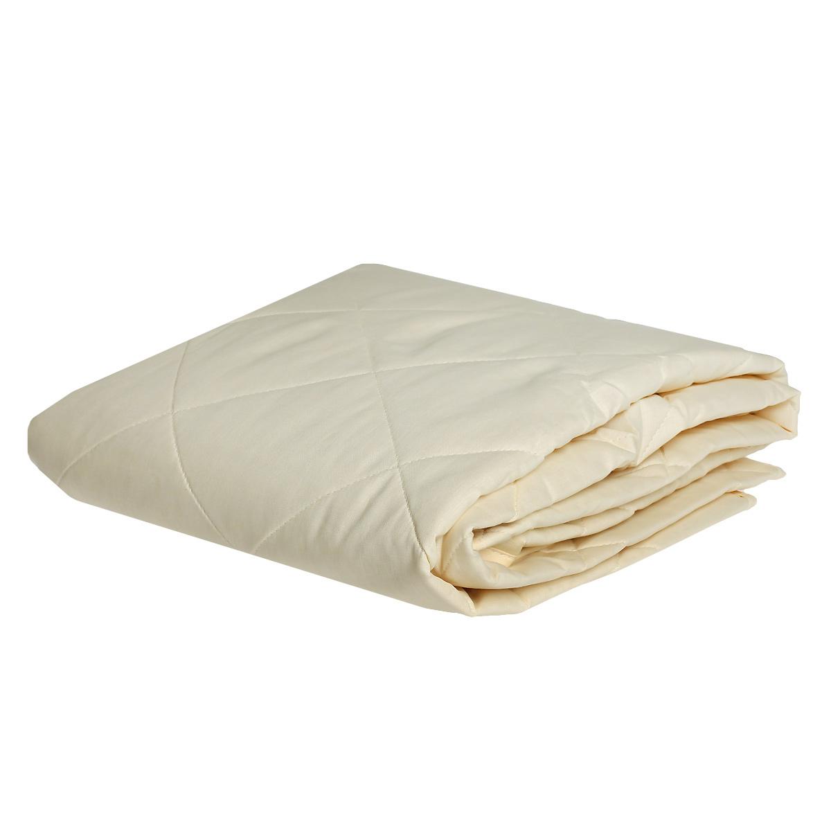 Наматрасник OL-Tex Miotex, наполнитель: овечья шерсть, цвет: бежевый, 180 см х 200 смМШП-180Наматрасник OL-Tex Miotex поможет продлить срок службы матраса и подарит комфорт во время сна. Чехол выполнен из смесовой ткани поликоттон (комбинация хлопка и полиэстера), которая отличается долговечностью, малой усадкой, низкой сминаемостью, хорошими гигиеническими свойствами. Чехол оформлен стежкой и кантом по краю. Стежка равномерно удерживает наполнитель в чехле. Наматрасник с натуральной овечьей шерстью согреет Вас сухим теплом. Способствует профилактике различных заболеваний спины и поясницы. Удобен в использовании - с помощью резинок надежно фиксируется на матрасе. Рекомендации по уходу: - Ручная и машинная стирка при температуре 30°С. - Не гладить. - Не отбеливать. - Нельзя отжимать и сушить в стиральной машине. - Сушить при низкой температуре.