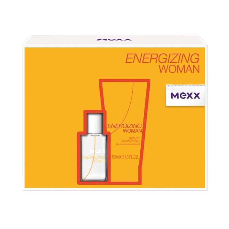 Mexx Подарочный набор Energizing Woman, женский: туалетная вода, гель для душа0737052881980Подарочный набор Mexx состоит из туалетной воды Energizing Woman и парфюмерного геля для душа с одноименным ароматом. Предметы набора упакованы в подарочную коробку. Mexx Energizing Woman - это квинтэссенция свежести и удивительных оттенков, которые поддерживают в тебе заряд бодрости в течение всего дня. Существует множество способов подзарядить батарейки в течение твоего обычного дня: поболтать с друзьями, посмеяться, послушать музыку, заняться спортом или - подзарядить батарейки с Mexx Energizing Woman! Свежесть апельсина и экзотических фруктов, - придает энергию! Новый день - новый старт. Наслаждайся началом своего дня вместе с Mexx Energizing. Классификация аромата : фруктовый. Пирамида аромата : Верхние ноты: апельсин, арбуз, яблоко. Ноты сердца: гуава, малина, роза. Ноты шлейфа: мускус, янтарь. Ключевые слова Бодрящий, свежий, энергичный! ...