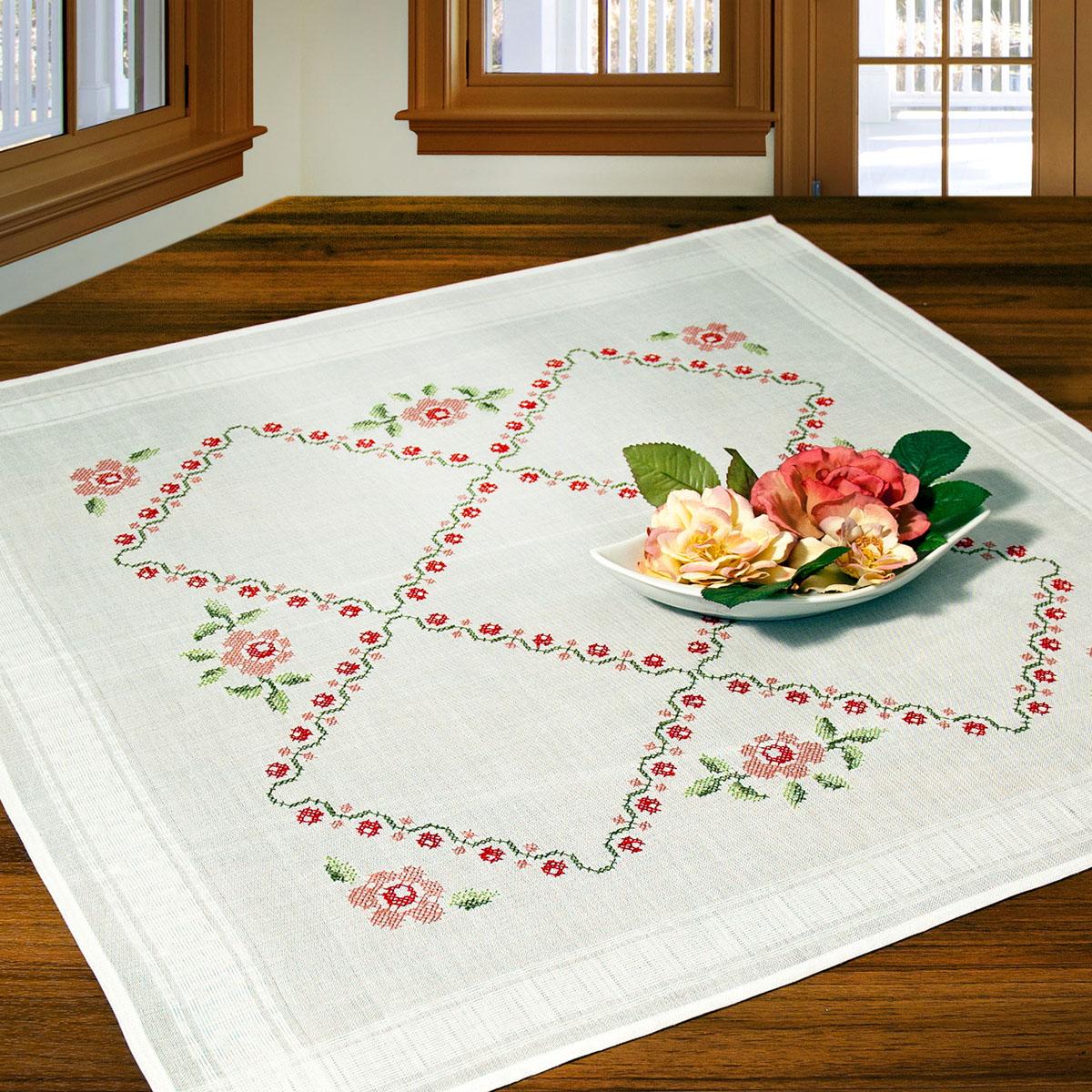 Дизайн вышивки скатерти 4