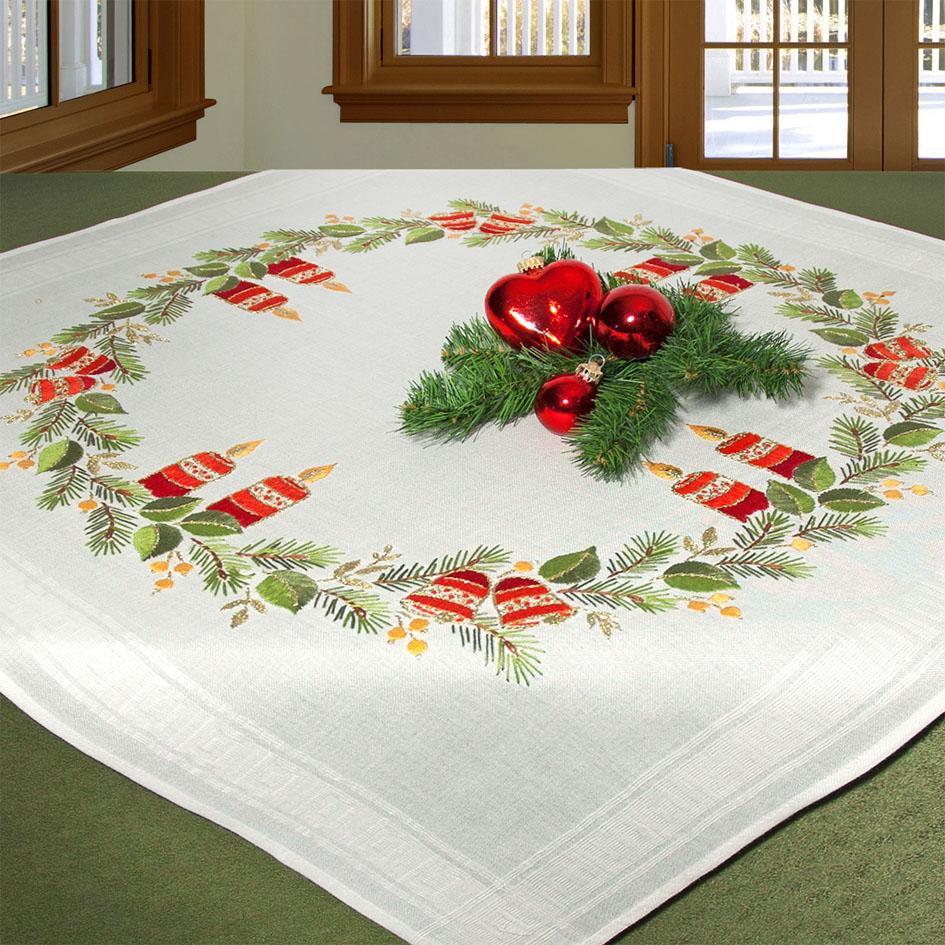 Набор для вышивания скатерти гладью