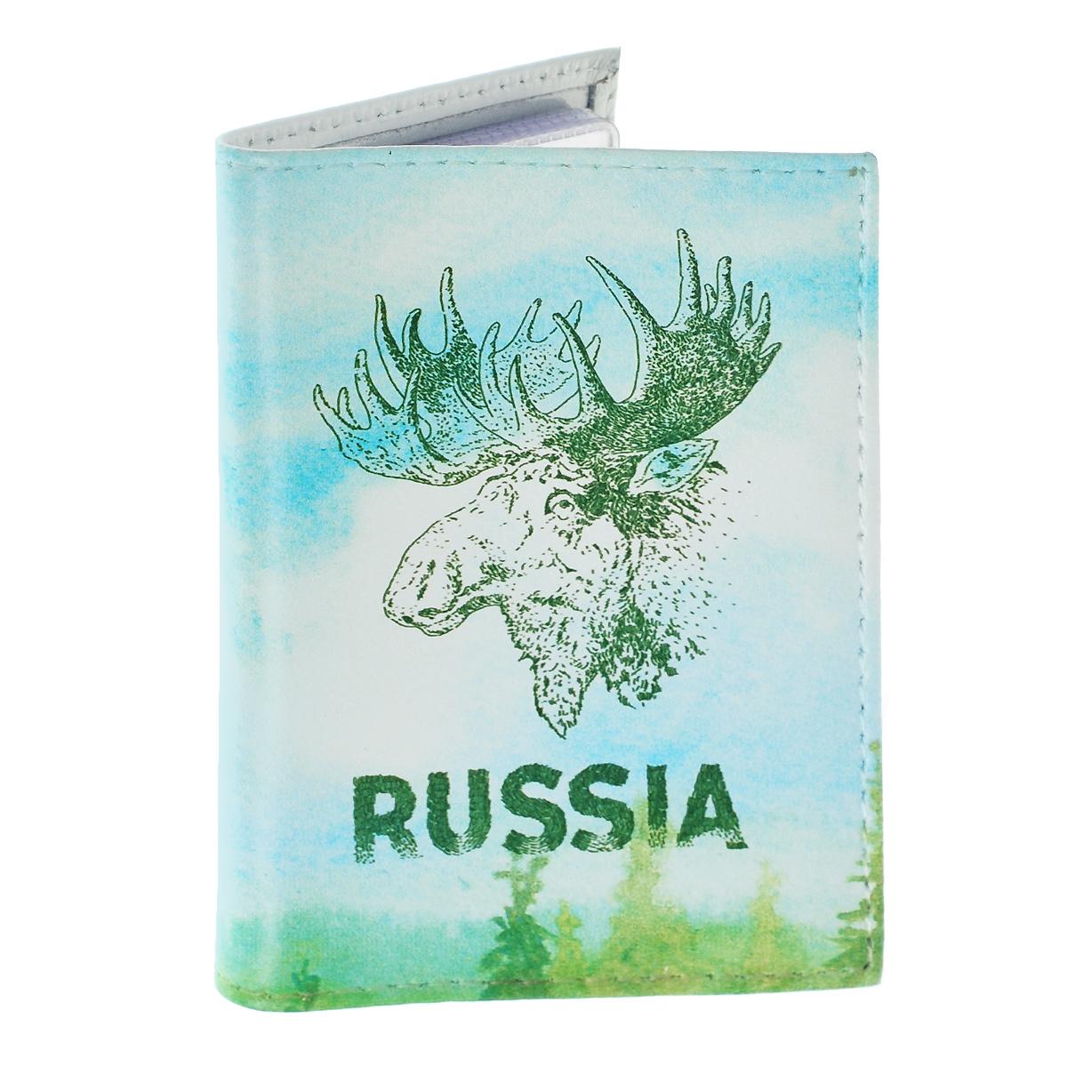 Визитница Лось. VIZIT-223VIZIT-223Оригинальная визитница Mitya Veselkov Лось - стильная вещь для хранения визиток. Она выполнена из натуральной кожи и оформлена изображением головы лося и надписью Russia. Внутри содержится съемный блок из прозрачного мягкого пластика на 18 визиток и 2 прозрачных вертикальных кармана. Яркая и оригинальная визитница подчеркнет вашу индивидуальность и изысканный вкус, а также станет замечательным подарком человеку, ценящему качественные и практичные вещи.