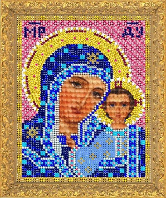 Набор для вышивания бисером Светлица Пресвятая Богородица Казанская, 12 х 16 см 7320М7320М