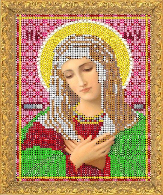 Набор для вышивания бисером Светлица Пресвятая Богородица Умиление, 12 х 16 см7336М
