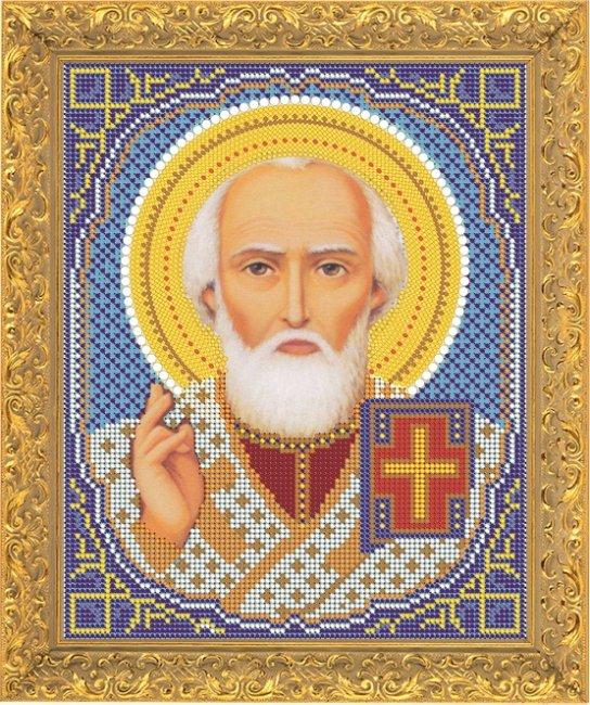 Набор для вышивания бисером Светлица Святой Николай Чудотворец, 19 х 24 см 73617361