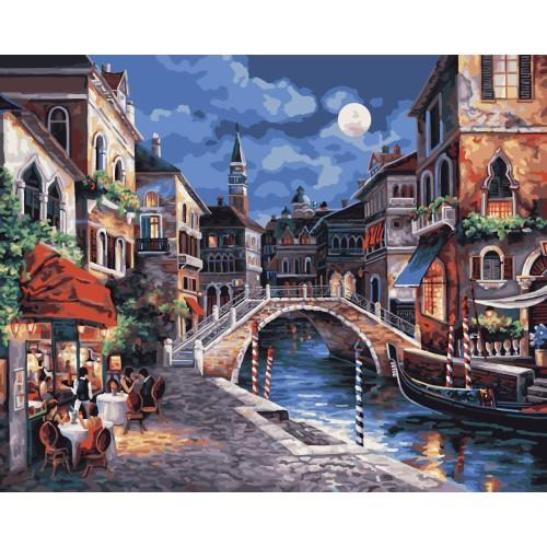Набор для раскрашивания Plaid Венеция ночью, 51 х 41 смPLD-21739Набор для раскрашивания Plaid Венеция ночью поможет вам создать свой личный шедевр - красивую картину, нарисованную акриловыми красками. С таким набором очень легко самостоятельно написать потрясающую картину, даже если вы этого никогда не делали. С помощью инструкции закрашивайте фоновые области по цветовым номерам. Набор для раскрашивания прекрасно подойдет как для школьников, так и для взрослых. В набор входят: - акриловые краски (24 цвета); - фактурный картон с нанесенным контуром рисунка; - кисть; - инструкция на русском языке. Прекрасно развивает художественный вкус, аккуратность и внимание. Набор не рекомендуется детям младше 13 лет.