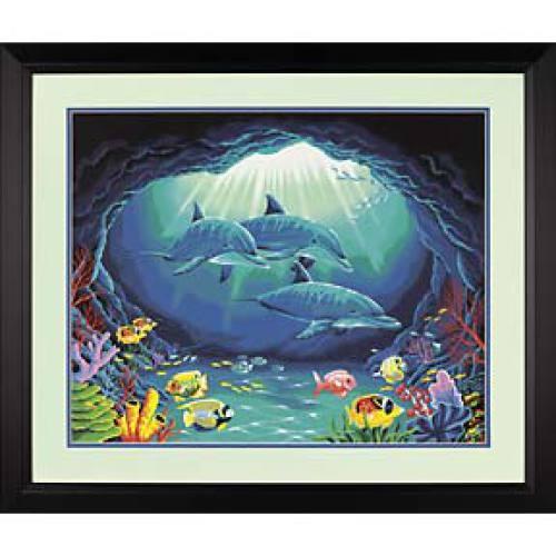 Набор для раскрашивания Paint Works Подводный рай, 51 см х 41 см. DMS-91302DMS-91302Набор для раскрашивания Paint Works Подводный рай поможет вам создать свой личный шедевр - красивую картину, нарисованную акриловыми красками. С таким набором очень легко самостоятельно написать потрясающую картину, даже если вы этого никогда не делали. С помощью инструкции закрашивайте фоновые области по цветовым номерам. Набор для раскрашивания прекрасно подойдет как для школьников, так и для взрослых. В набор входят: - акриловые краски (17 цветов), - фактурный картон с нанесенным контуром рисунка, - кисть, - инструкция на русском языке. Размер готовой картины: 51 см х 41 см. УВАЖАЕМЫЕ КЛИЕНТЫ! Обращаем ваше внимание, на тот факт, что рамка в комплект не входит, а служит для визуального восприятия товара.