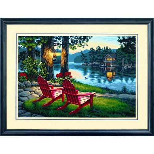 Набор для раскрашивания Paint Works Вечер и удобные кресла, 50 см х 35 см. DMS-91357DMS-91357Набор для раскрашивания Paint Works Вечер и удобные кресла поможет вам создать свой личный шедевр - красивую картину, нарисованную акриловыми красками. С таким набором очень легко самостоятельно написать потрясающую картину, даже если вы этого никогда не делали. С помощью инструкции закрашивайте фоновые области по цветовым номерам. Набор для раскрашивания прекрасно подойдет как для школьников, так и для взрослых. В набор входят: - акриловые краски (18 цветов), - фактурный картон с нанесенным контуром рисунка, - кисть, - инструкция на русском языке. Размер готовой картины: 50 см х 35 см. УВАЖАЕМЫЕ КЛИЕНТЫ! Обращаем ваше внимание, на тот факт, что рамка в комплект не входит, а служит для визуального восприятия товара.