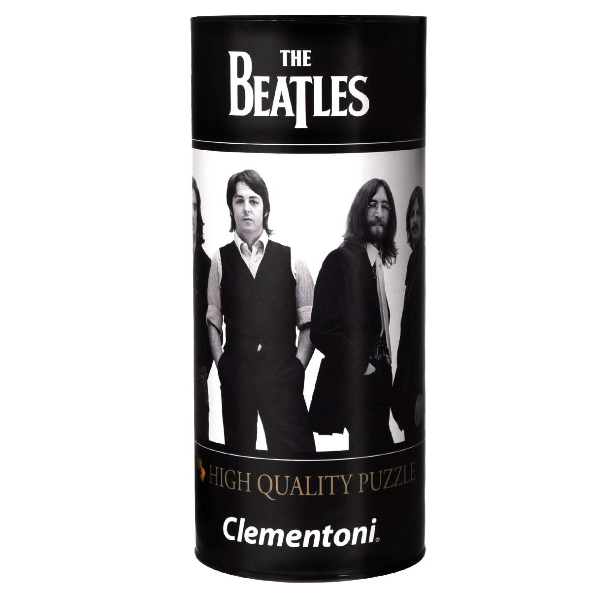 Clementoni The Beatles, Across The Universe. Пазл, 500 элементов21200Пазл Clementoni The Beatles, Across The Universe, без сомнения, придется по душе вам и вашему ребенку. Собрав этот пазл, включающий в себя 500 элементов, вы получите картину с изображением знаменитой группы The Beatles. Каждая деталь имеет свою форму и подходит только на своё место. Нет двух одинаковых деталей! Пазл изготовлен из картона высочайшего качества. Все изображения аккуратно отсканированы и напечатаны на ламинированной бумаге. Пазл упакован в оригинальную коробку-тубус. Пазл - великолепная игра для семейного досуга. Сегодня собирание пазлов стало особенно популярным, главным образом, благодаря своей многообразной тематике, способной удовлетворить самый взыскательный вкус. А для детей это не только интересно, но и полезно. Собирание пазла развивает мелкую моторику у ребенка, тренирует наблюдательность, логическое мышление, знакомит с окружающим миром, с цветом и разнообразными формами.