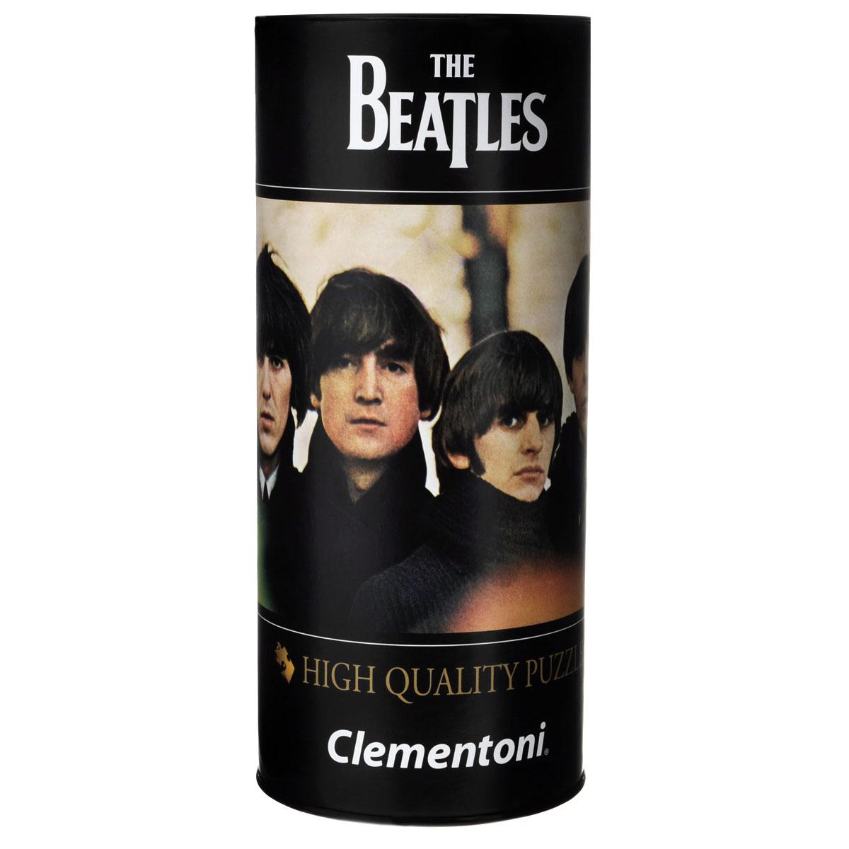 Clementoni The Beatles, Eight Days a Week. Пазл, 500 элементов21203Пазл Clementoni The Beatles, Eight Days a Week, без сомнения, придется по душе вам и вашему ребенку. Собрав этот пазл, включающий в себя 500 элементов, вы получите картину с изображением обложки одного из альбомов знаменитой группы The Beatles. Альбом Beatles for Sale вышел в декабре 1964 года. Несмотря на то, что Битлз были вынуждены записывать его в сжатые сроки в перерывах между гастролями, сразу же после его выхода в британском хит-параде он занял почётное 1-ое место и в течение 7 недель подряд не уступал его конкурентам. Каждая деталь имеет свою форму и подходит только на своё место. Нет двух одинаковых деталей! Пазл изготовлен из картона высочайшего качества. Все изображения аккуратно отсканированы и напечатаны на ламинированной бумаге. Пазл упакован в оригинальную коробку-тубус. Пазл - великолепная игра для семейного досуга. Сегодня собирание пазлов стало особенно популярным, главным образом, благодаря своей многообразной тематике, способной удовлетворить...