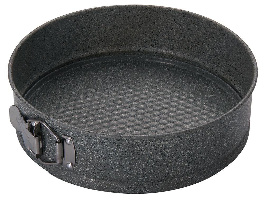 Форма для выпечки Regent Inox Linea Easy разъемная, круглая, с антипригарным покрытием, цвет: серый, диаметр 24 см93-CS-EA-25-04Круглая форма для выпечки Regent Inox Linea Easy выполнена из углеродистой стали с двухсторонним антипригарным покрытием. Форма имеет разъемный механизм, благодаря чему готовое блюдо очень легко вынимать из формы. Блюда не пригорают и не прилипают к стенкам. Такая форма значительно экономит время по сравнению с аналогичными формами для выпечки. С формой для выпечки Regent Inox готовить любимые блюда станет еще проще. Перед первым применением форму вымыть и смазать маслом. Максимальная температура нагрева 250°С. Можно мыть в посудомоечной машине.