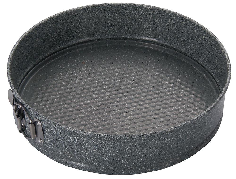Форма для выпечки Regent Inox Linea Easy разъемная, круглая, с антипригарным покрытием, цвет: серый, диаметр 28 см93-CS-EA-25-06Круглая форма для выпечки Regent Inox Linea Easy выполнена из углеродистой стали с двухсторонним антипригарным покрытием. Форма имеет разъемный механизм, благодаря чему готовое блюдо очень легко вынимать из формы. Блюда не пригорают и не прилипают к стенкам. Такая форма значительно экономит время по сравнению с аналогичными формами для выпечки. С формой для выпечки Regent Inox готовить любимые блюда станет еще проще. Перед первым применением форму вымыть и смазать маслом. Максимальная температура нагрева 250°С. Можно мыть в посудомоечной машине.