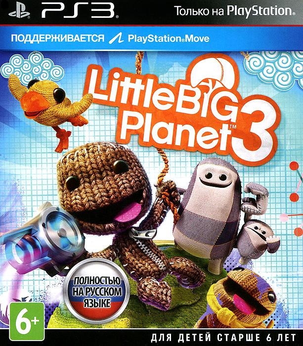 LittleBigPlanet 3Сэкбой возвращается, да не один! На этот раз с ним его верные друзья - Тоггл, Оддсок и Свуп. Каждый из них обладает яркой индивидуальностью и, конечно, уникальными способностями. В LittleBigPlanet 3 Сэкбою и его товарищам предстоит отправиться на новую планету - настоящий рай для творчества, где сам воздух напоен креативными идеями. К сожалению, наш вязаный герой невольно приложил руку к освобождению трех мифических созданий, которые сразу же возжелали уничтожить все вокруг. Свои ошибки надо исправлять, и Сэкбою придется вступить в неравную борьбу бой. А впрочем… не такую уж и неравную - ведь на его стороне выступят три добрых друга - Тоггл, Оддсок и Свуп! Особенности игры: Вас ждут три новых игровых персонажа, обладающие уникальным набором умений. Оддсток умеет прыгать по стенам, Свуп - летать и переносить небольшие предметы, а Тоггл способен вырастать в размерах и уменьшаться по своему желанию. Большой Тоггл такой сильный и грузный, что может...