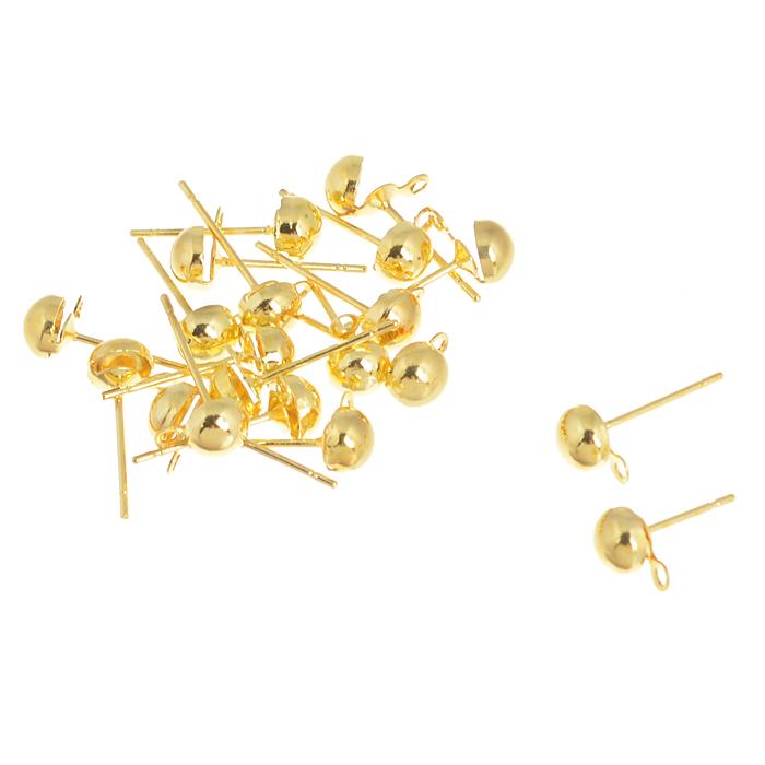 Основа для серег Астра Гвоздик, цвет: золотистый, 0,7 мм х 13,5 мм х 5 мм, 20 шт7704344_золотоКомплект основ для сережек Астра Гвоздик состоит из 20 основ в виде гвоздиков, которые изготовлены из металла. С этими основами вы сможете легко сделать прекрасные сережки. Радуйте себя и своих близких украшениями сделанными своими руками!