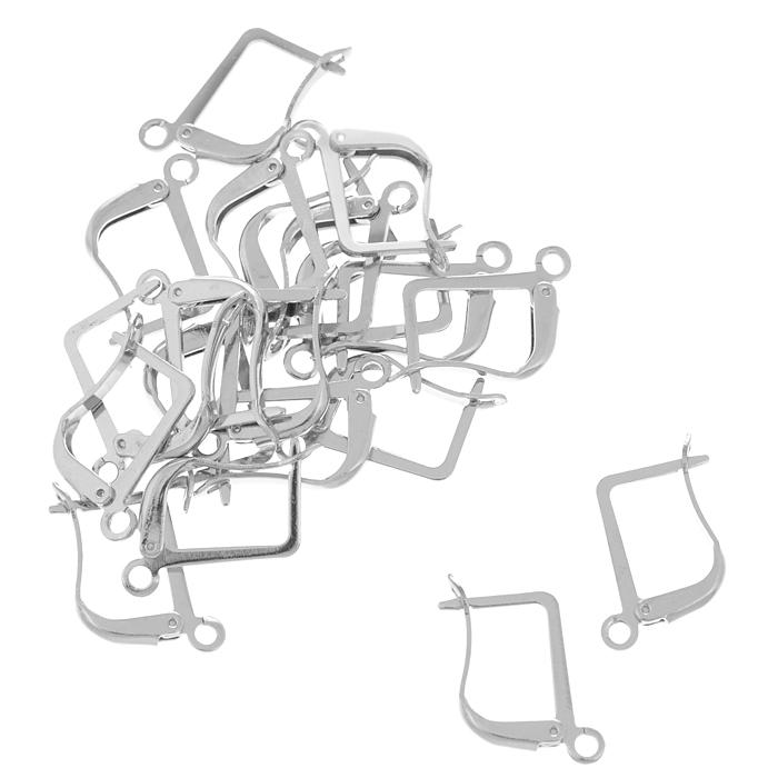 Основа для серег Астра Английский замок, цвет: серый, 13,5 мм, 20 шт7704267_никельКомплект основ для сережек Астра Английский замок состоит из 20 основ с английским замком, которые изготовлены из металла. С этими основами вы сможете легко сделать прекрасные сережки. Радуйте себя и своих близких украшениями сделанными своими руками!
