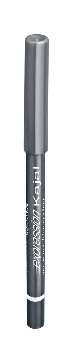 Maybelline New York Карандаш для глаз Expression Kajal, оттенок 40, серебристо-серый, 1,14B1851612Уникальная мягкая водостойкая формула карандаша обеспечивает легкое и тонкое нанесение для стойкого макияжа на весь день. Карандаш для глаз подходит даже для внутренней части века. Создай четкий контур для выразительных глаз! 9 оттенков