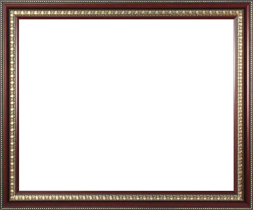 Багетная рама Renaissance, цвет: темно-коричневый, золотистый, 40 х 50 см2563-BB Renaissance (т. коричневый)Багетная рама Renaissance изготовлена из пластика. Багетные рамы предназначены для оформления картин, вышивок и фотографий. Оформленное изделие всегда становится более выразительным и гармоничным. Подбор багета для картин очень важен - от этого зависит, какое значение будет иметь выполненная работа в вашем интерьере. Если вы используете раму для оформления живописи на холсте, следует учесть, что толщина подрамника больше толщины рамы и сзади будет выступать, рекомендуется дополнительно зафиксировать картину клеем, лист-заглушку в этом случае не вставляют. В комплекте - крепежные элементы, с помощью которых изделие можно подвесить на стену.