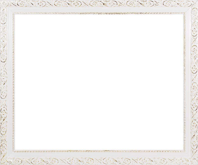 Багетная рама Antique, цвет: белый, золотистый, 40 см х 50 см2575-BB Antique (белый)Багетная рама Antique изготовлена из пластика. Багетные рамы предназначены для оформления картин, вышивок и фотографий. Оформленное изделие всегда становится более выразительным и гармоничным. Подбор багета для картин очень важен - от этого зависит, какое значение будет иметь выполненная работа в вашем интерьере. Если вы используете раму для оформления живописи на холсте, следует учесть, что толщина подрамника больше толщины рамы и сзади будет выступать, рекомендуется дополнительно зафиксировать картину клеем, лист-заглушку в этом случае не вставляют. В комплекте - крепежные элементы, с помощью которых изделие можно подвесить на стену.