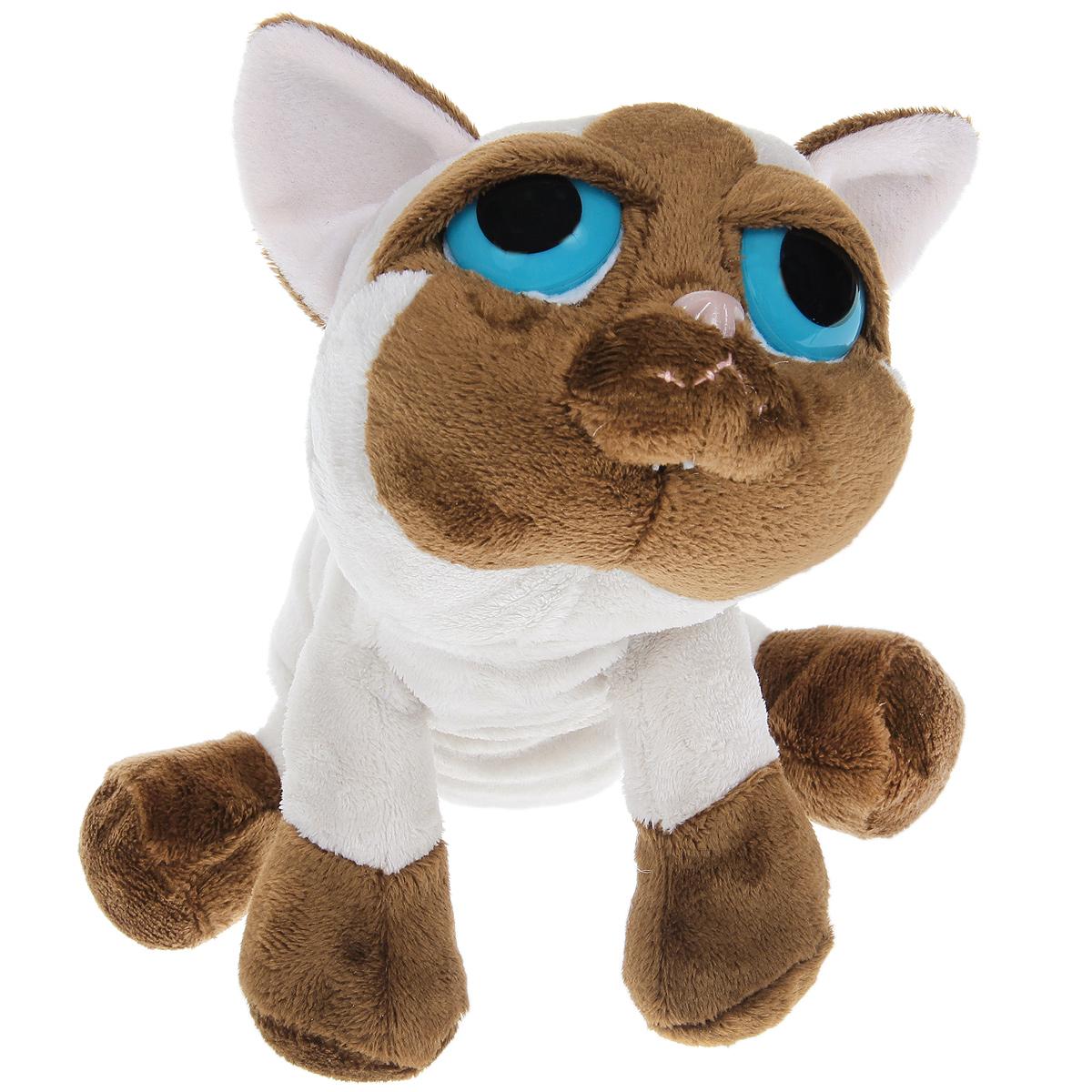 Мягкая игрушка Сиамский кот Пиперс, 25 см85053Очаровательный сиамский кот с большими печальными глазами, яркой индивидуальностью и невероятным шармом. Игрушка выполнена из высококачественных нетоксичных неаллергичных материалов. Приятна на ощупь. С полимерными гранулами внутри, способствующими развитию мелкой моторики у детей и эмоциональной релаксации у взрослых.