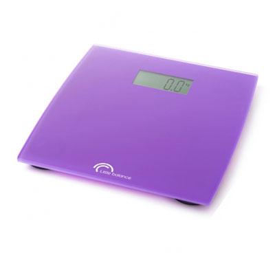 "Весы напольные Little balance ""Little Magenta"", цвет: пурпурный"